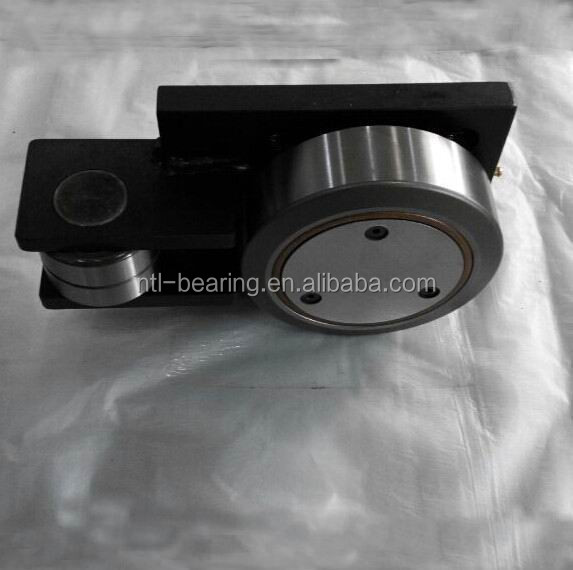 Combined bearing/Forklift bearing with mounting plate