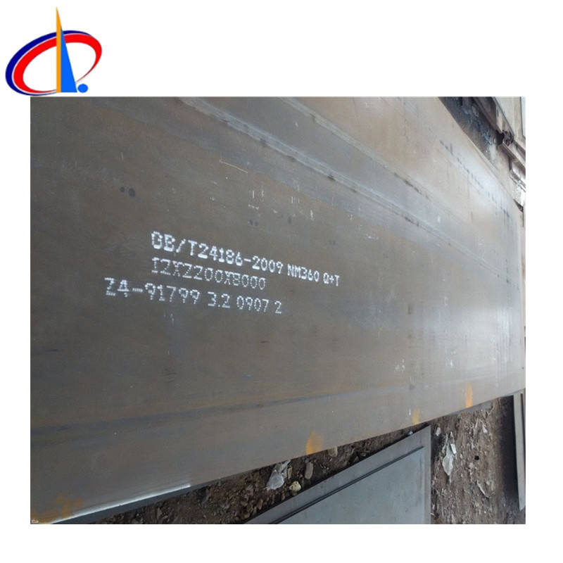 top quality NM 360 wear resistant steel plate price per ton