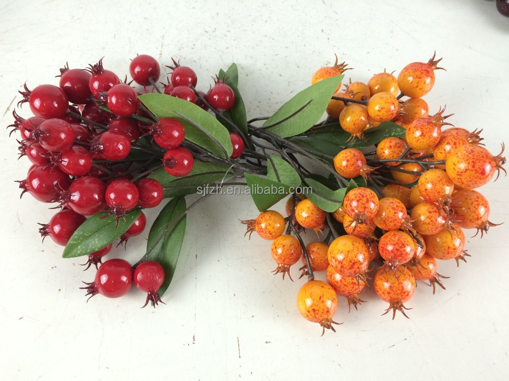 wholesale christmas artificial pomegranate wedding artificial ornament christmas artificial fruit