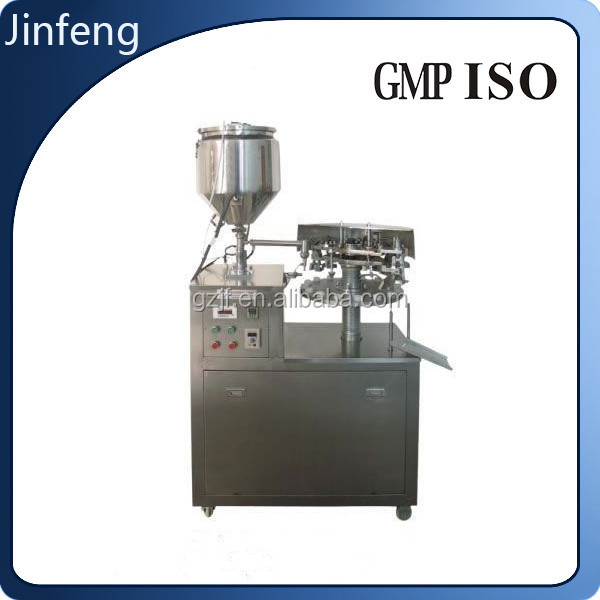 Semi-Automatic Metal tube Filling and Sealing Machine for paint,glue,ointment