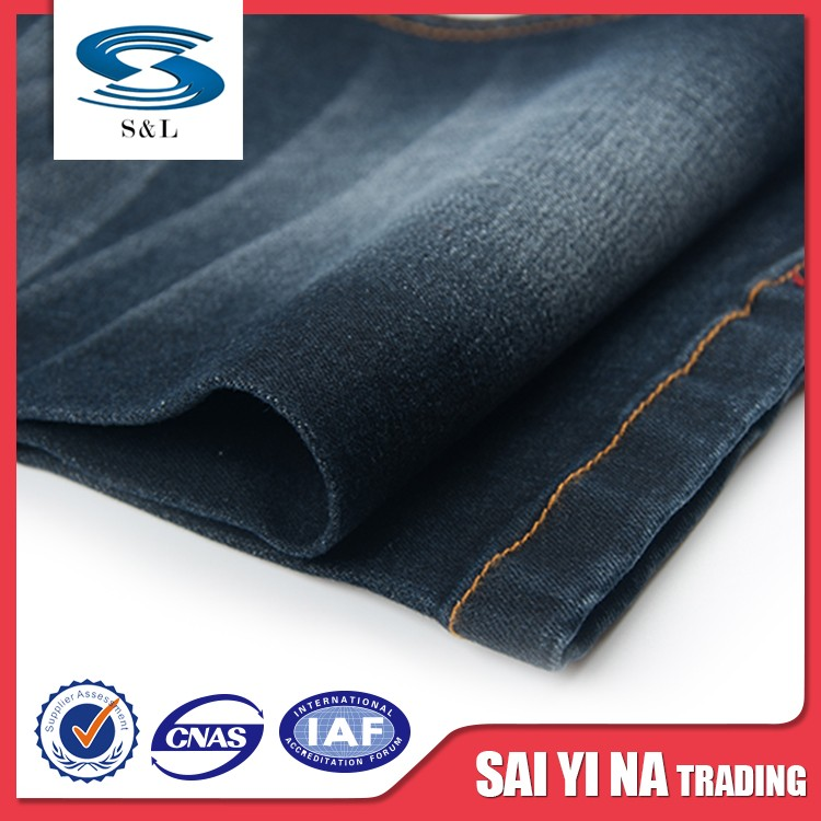 Organic denim fabric cotton mercerized crochet thread