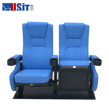 USIT UA638 Best price folding 3d 4d cinema chair theater chair with cupholders for sale