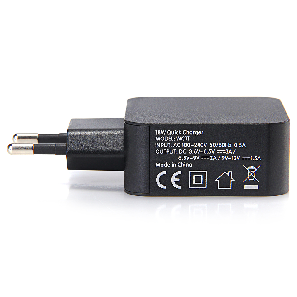 Transmart Wholesale Suppliers Alibaba Tronsmart Quick Charge 30 42w 3 Port Charger W3pta Qualcomm Certified
