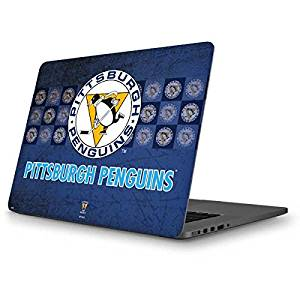 NHL Pittsburgh Penguins MacBook Pro 13 (2013-15 Retina Display) Skin - Pittsburgh Penguins Vintage Vinyl Decal Skin For Your MacBook Pro 13 (2013-15 Retina Display)
