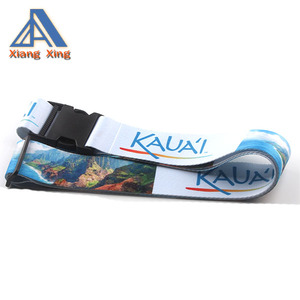 Dye sublimation printed luggage belt