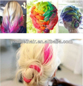 24 colors set temporary color hair chalk for coloring hair