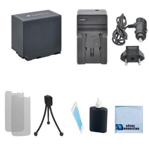 CGR-D54 Li-ion Battery For Panasonic + Car/Home Charger for PV-GS12, PV-GS14, PV-GS15, PV-GS16, PV-GS2, PV-GS9, PV-VM202, PVD-401, VDR-M10, VDR-M20 & More.. Camcorder + Complete Starter Kit