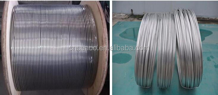 High Quality SS 304 SS316L stainless steel seamless coiled tube/tubing price