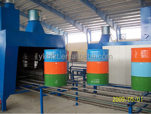 Steel drum production line or steel drum making machine 208Lt. or packaging machine 55 gallon