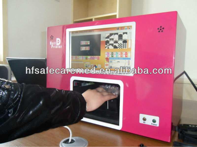 Nail Art Design Printing Machine - Absolute cycle