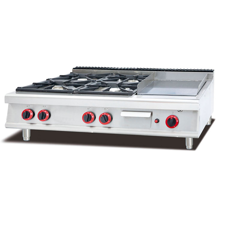 Commercial Table Top Gas Cooking Range