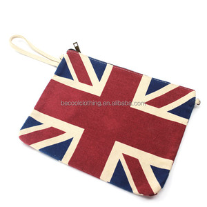 British Style Tote Bag For Women In Handbags Canvas Foldable Handbag For Cash&Phone&Key