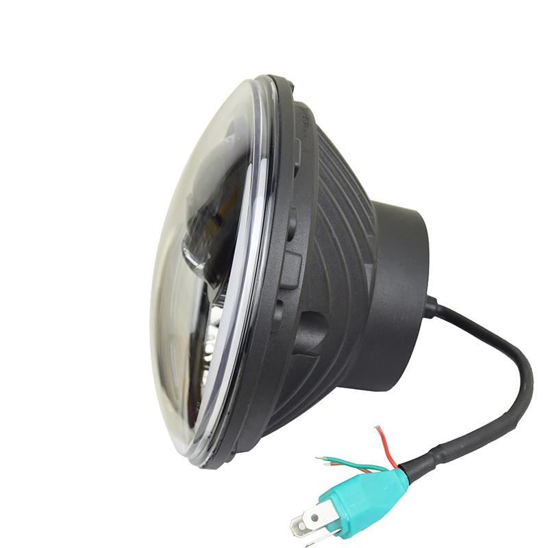 Inventive Dc 12v-24v 30w Motorcycle E-bike Led Head Light 12v Modified Spot Fog Headlight Motorcycle Electric Bicycle Car Headlight Bulbs(led)