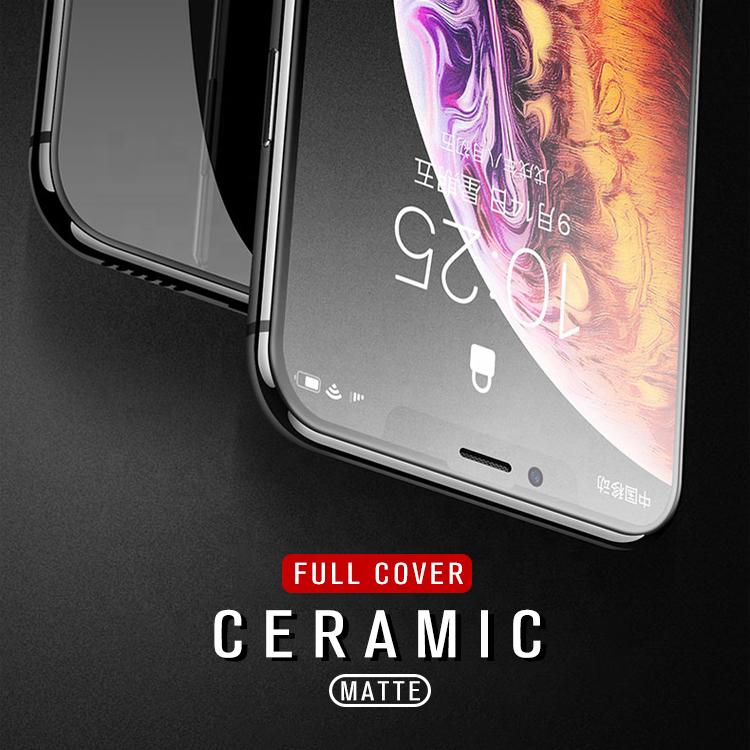 Nano Matte Glass Screen Guard for IPhone X XS XR Anti Glare Screen Phone Protection