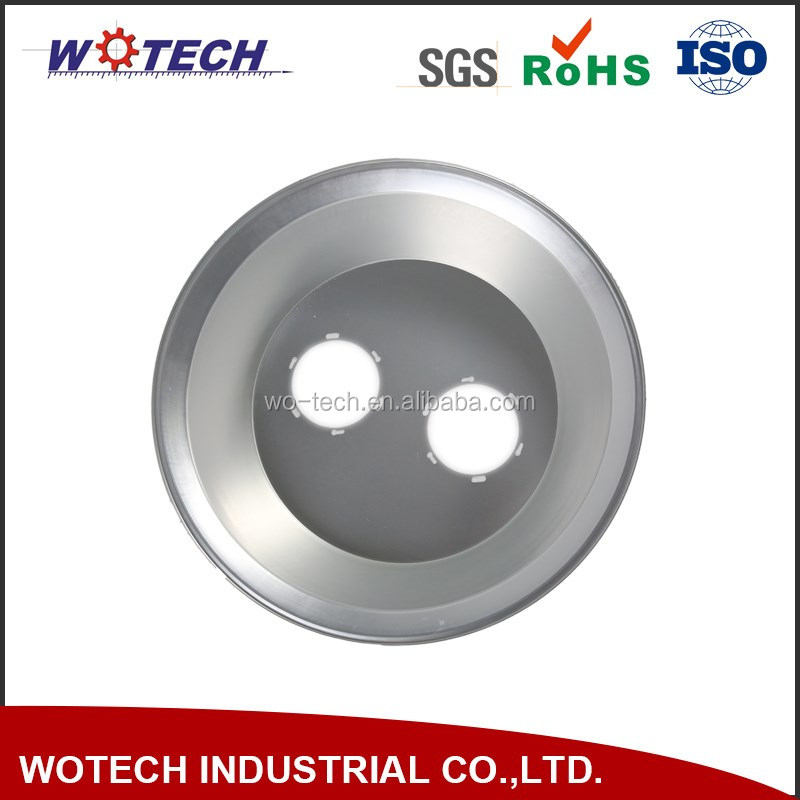 OEM aluminum parts metal spinning parts high quality lampshades