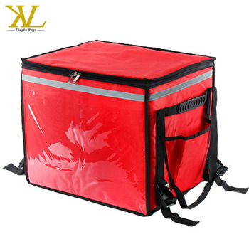 Chinese Take Out Motorcycles Incubator Box Hot Food Home Delivery Backpack
