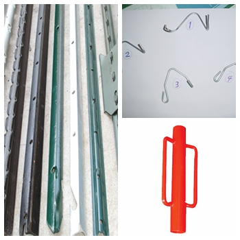 Hot Sale PVC Coated Heat Treated 6 ft T Post for American Market