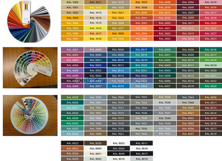 Ral Pantone wholesale best selling products ral 9002 white hybrid powder coating