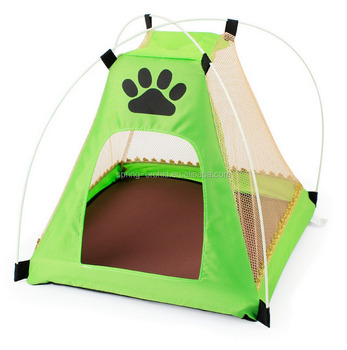 Green Portable Folding Dog Dome Beach Tent for Indoor Outdoor Pet Tent Dog Bed  sc 1 st  Alibaba : beach tent for dogs - memphite.com