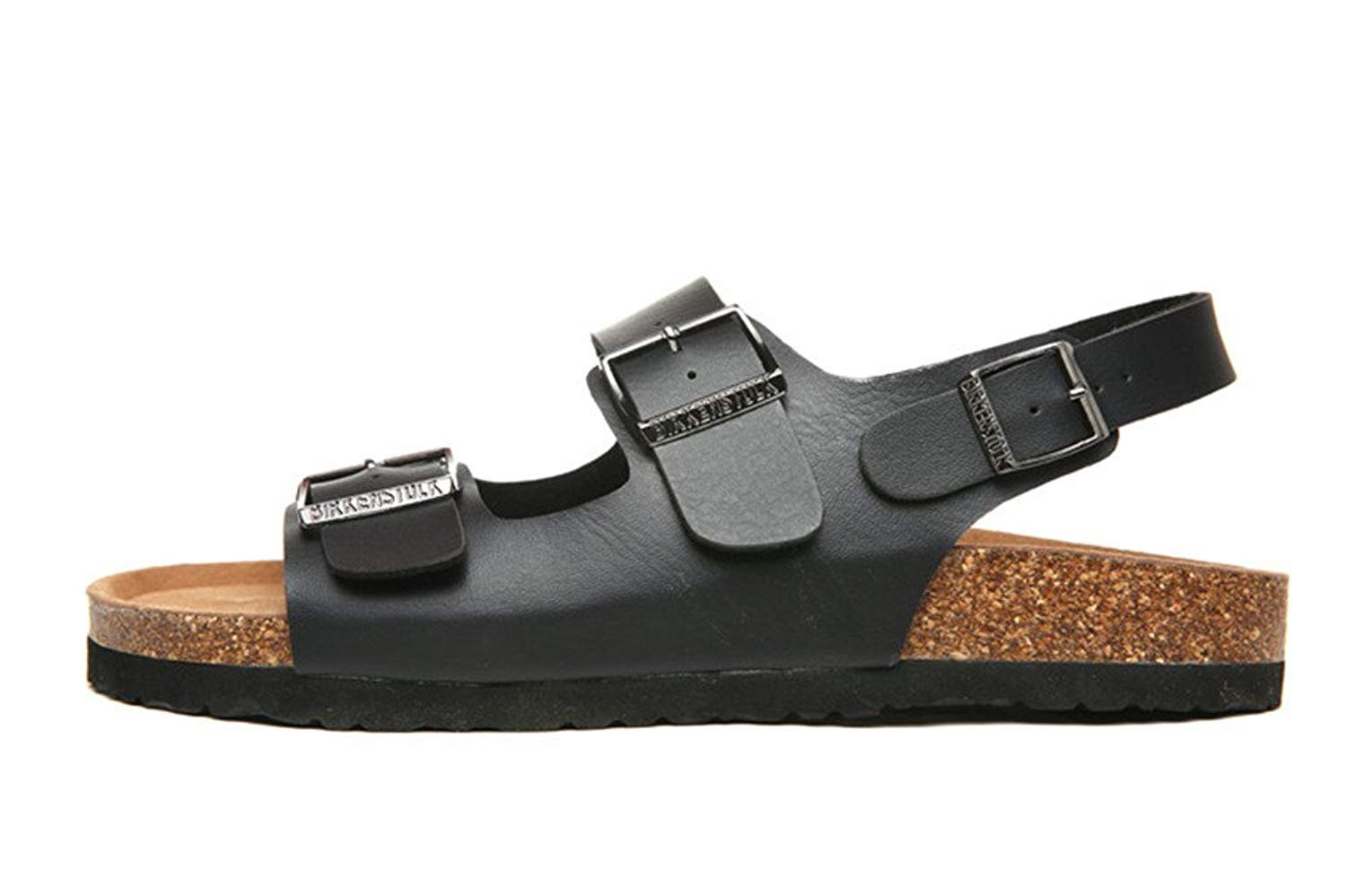 f37d9d6cdb102b Get Quotations · Men Multi-Strap Cork Flip Flop Casual