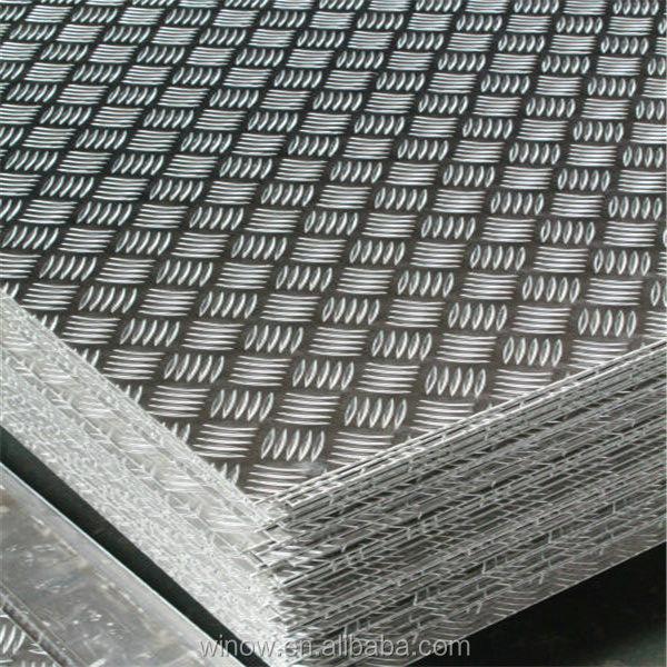aluminium remorque plancher checker plaque de bande de roulement prix de feuille planches d. Black Bedroom Furniture Sets. Home Design Ideas