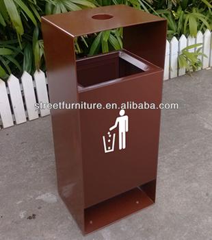 Factory Direct Outdoor Trash Bin Garbage Street Furniture