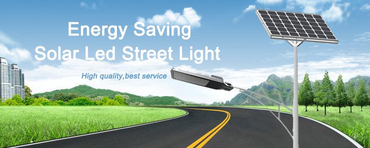 6M30W energy saving led solar street lights outdoor solar street light with pole