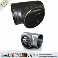24 inch carbon steel equal tee