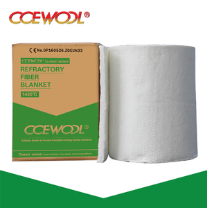 CCEWOOL 1260 heat insulation refractory ceramic fiber blanket for power plant