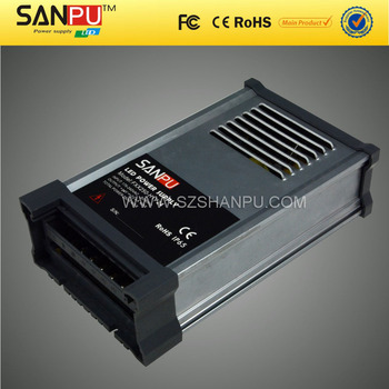 Sanpu 2016 hot selling 250w 24v waterproof ac dc power supply