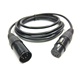 High grade XLR 3Pin male to female cable