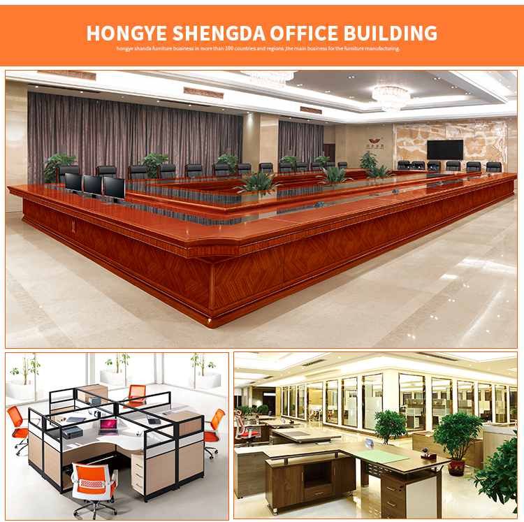 Hongye Sale in American Office Furniture Luxury Executive Office Desk