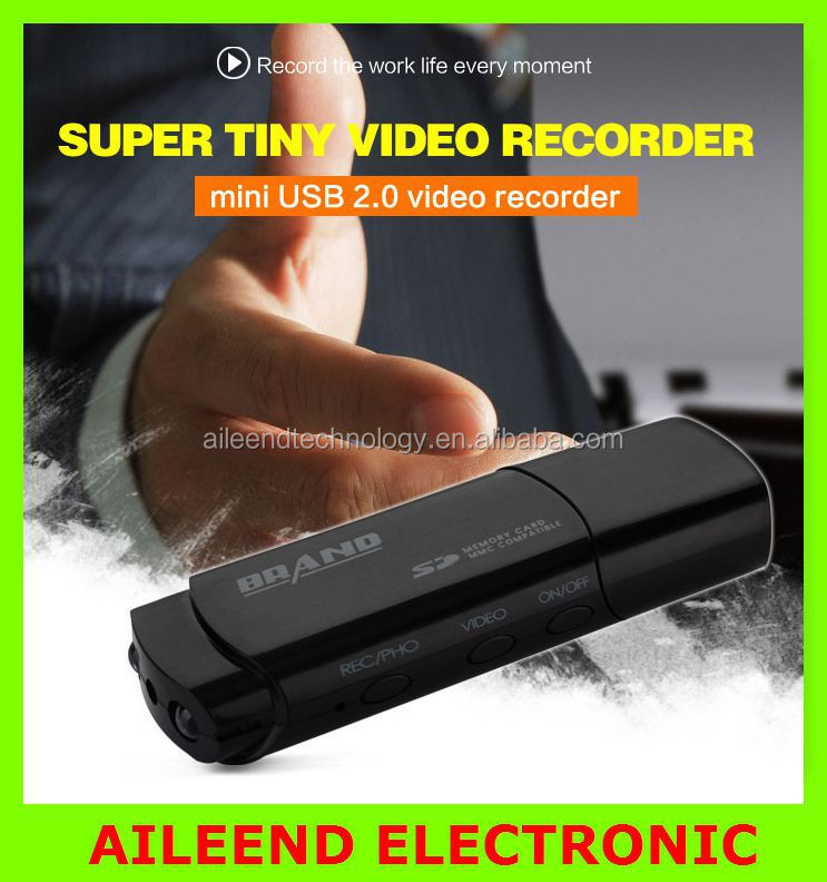 1080P voice recorder digital cam with IR night vision Mini USB Disk HD DVR Camera Motion Detector Camcorder USB Video Recorder