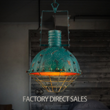 2017 New product American industrial decorative iron Pendant lamp for Bar Cafe Restaurant Internet cafes Clothing store