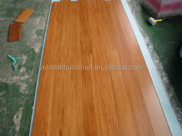 Anti Scratch Durable Flooring Bamboo Strand Woven Solid Bamboo - Bamboo floor scratches easily