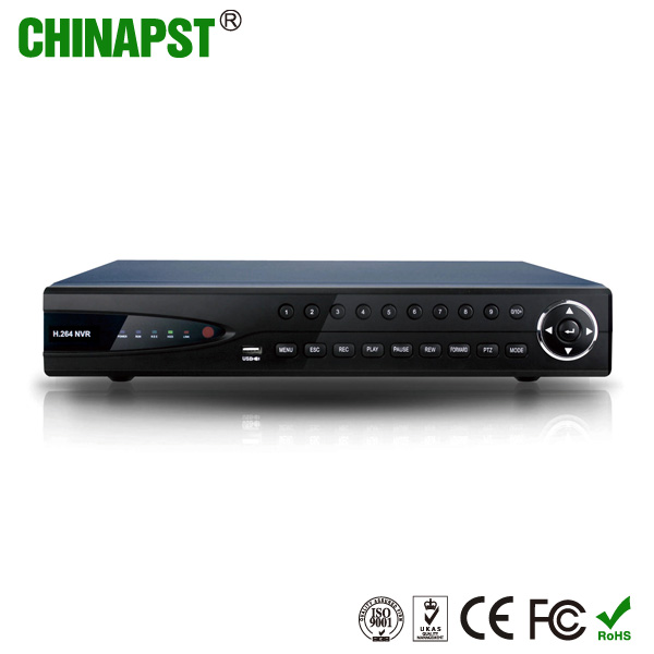 2016 new and cheap network Video/Audio output 1080P 4CH/8CH/16CH POE HD NVR HDMI mini DVR/NVR for ip camera security PST-NVR204