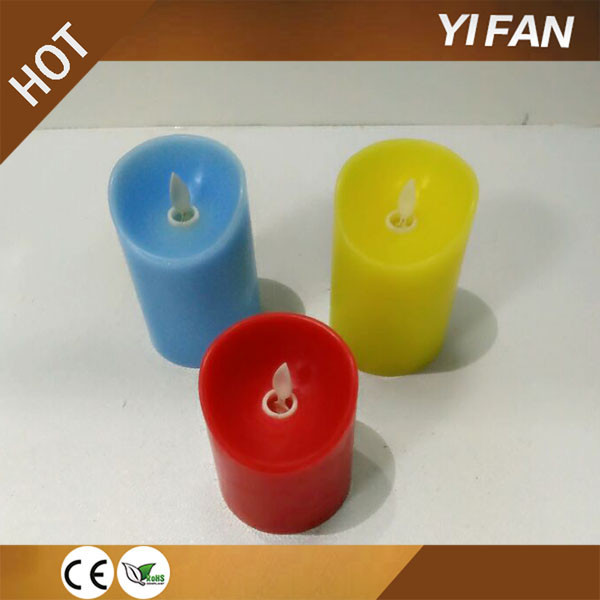 Hot Sale Flameless Color Changing Electronic Candle