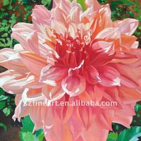 100% Handpainted fabric painting designs in flowers
