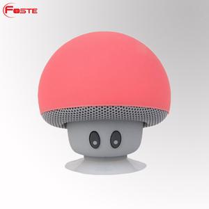 2018 Cheap Custom Mini Microphone Multifunctional Wireless Woofer Speakers Portable Outdoor Mushroom Bluetooth Speaker