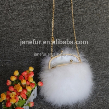 Newest Fancy European Style Small Size White Turkey Feather Handbags - Buy  European Style Small Fur Handbags,Small Size White Turkey Feather