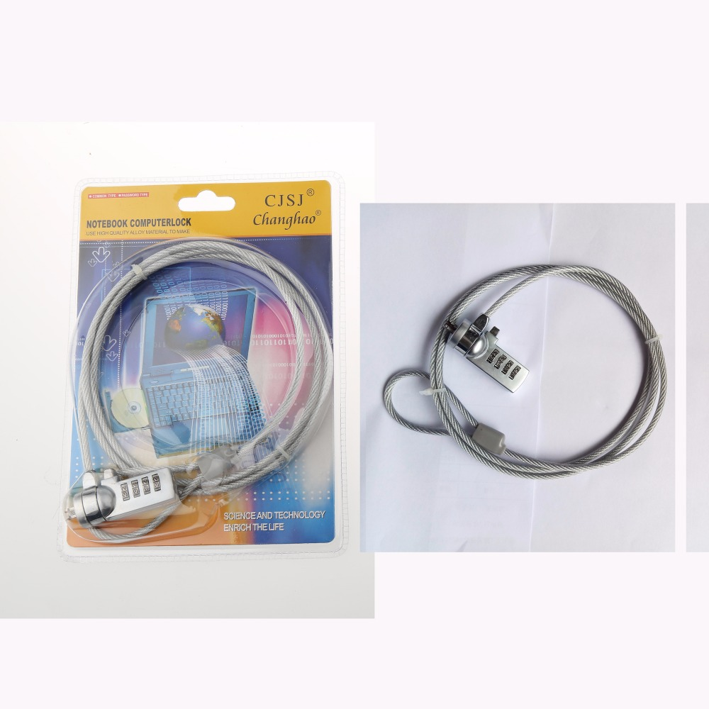 CH-902 top security 1200mm 4 digit code laptop computer cable lock