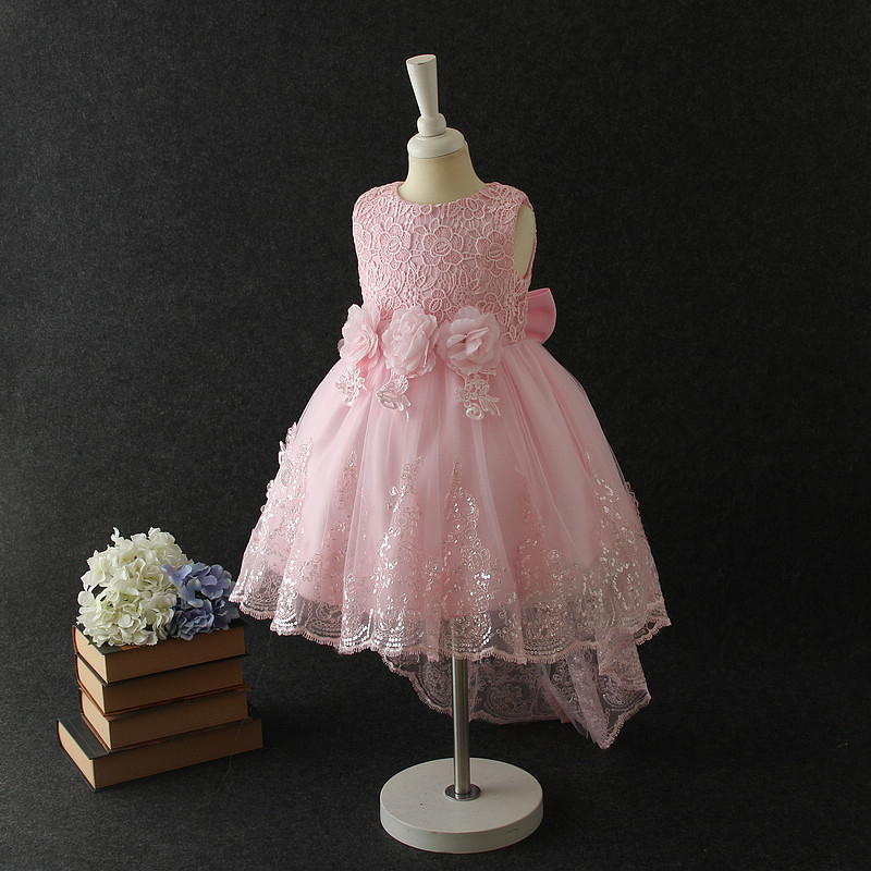 16096e4ff059 2018 New Baby Dress Children Frocks Designs Kids Flower Party ...