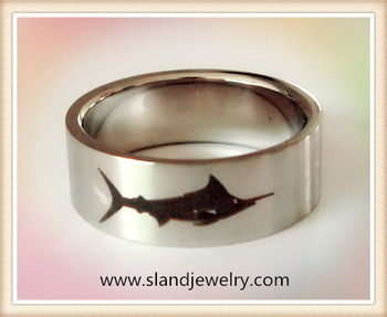 Alibaba China Supplier Wholesale High Polish Laser Engraved Shark ...