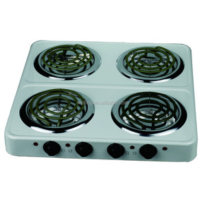 4 Burner Electric Hotplate 4 Burner Electric cooktop Heating Stove Electric Hot Plate Cooker
