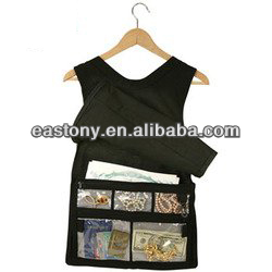 Hanging Closet Safe Hides All of Your Valuables (Tank Top Style)