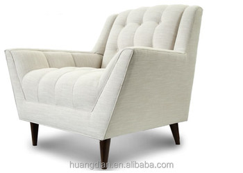 Mid Century Modern Chair Vintage Style Sofa Hotel Room Furniture Bed Room  Set