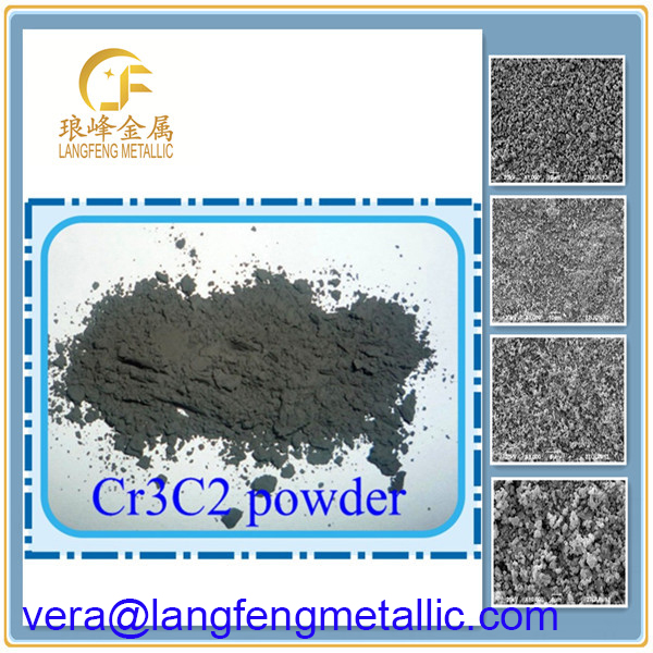 High melting-point and 99.5%pure chromium carbide powder wear resistance in higher temperature environments.