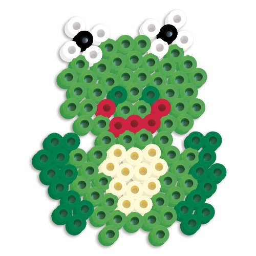 Perler Beads Silicone Pegboard Fused Bead Kit - Frog
