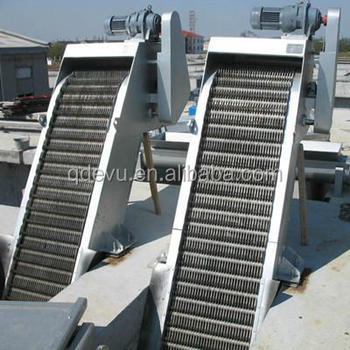 Automatic Rotary Types Mechanical Trash Rack Bar Screen Filters For Wastewater