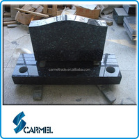 American Blue Pearl Granite Headstone